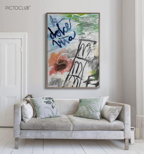 PICTOCLUB Painting - LA DOLCE VITA - Pictoclub Originals