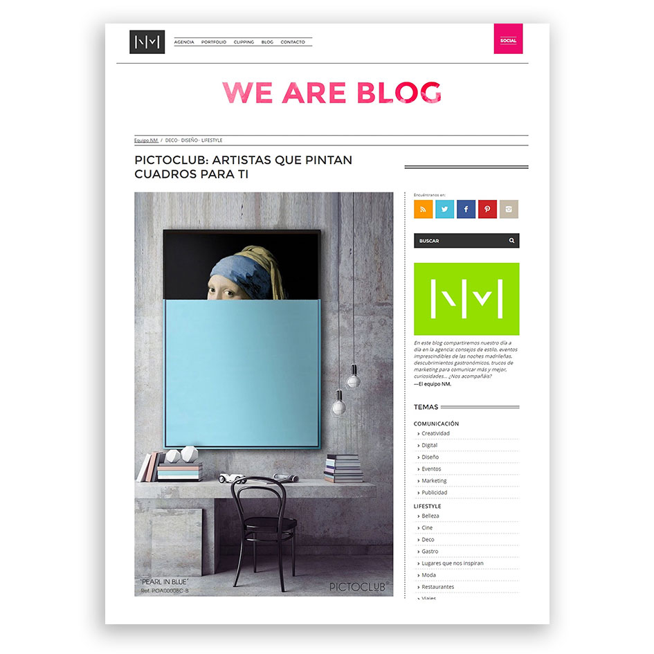 WE ARE BLOG