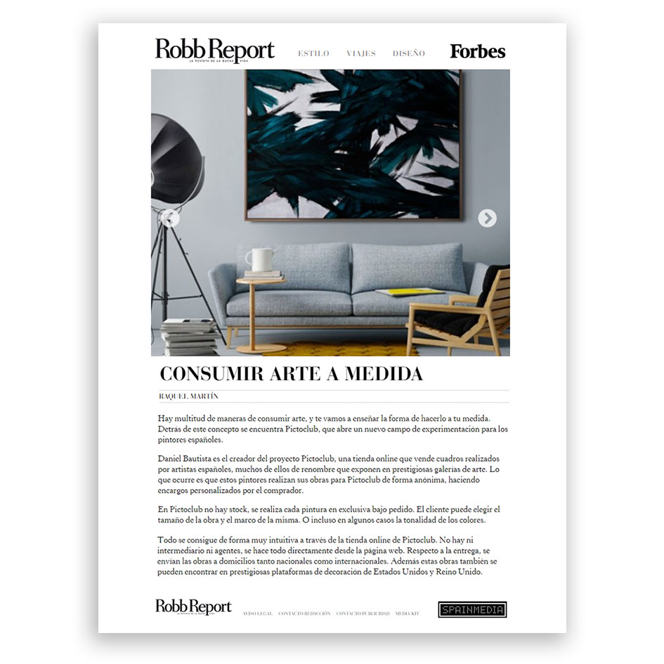 ROBB REPORT - FORBES