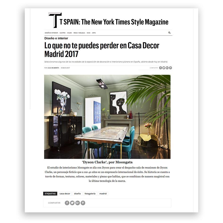 NY TIMES STYLE MAGAZINE