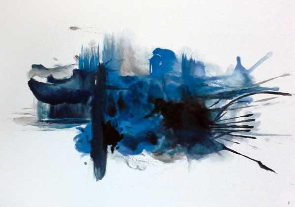 PICTOCLUB Painting - IMPLOSION 2 - Pictoclub Originals