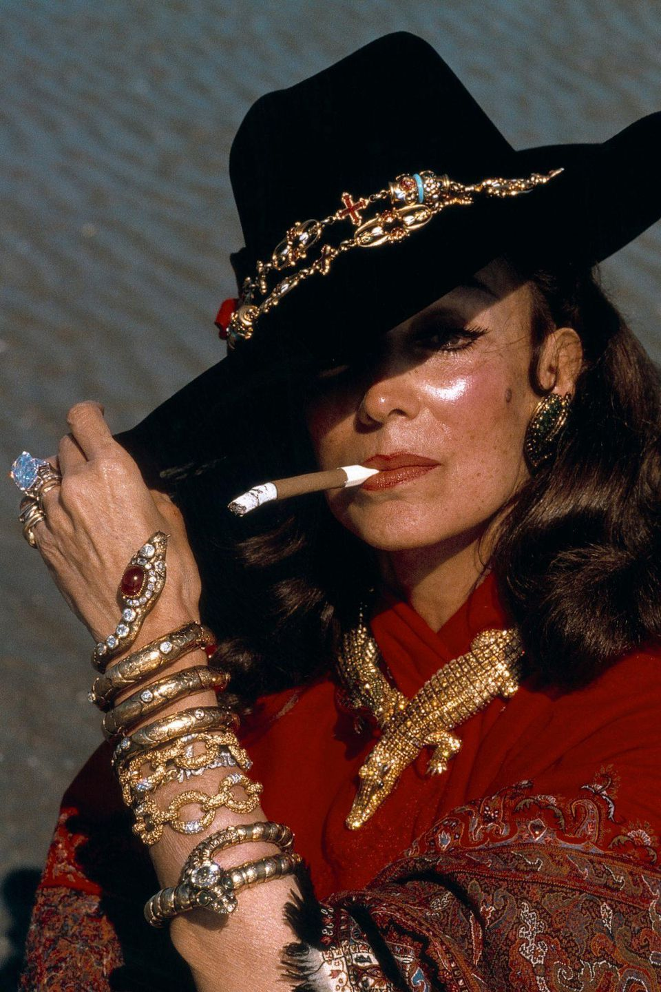 MARÍA FÉLIX CARTIER CROCODILE COLLECTION TRIBUTE
