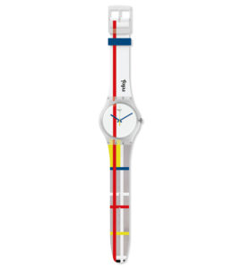 SWATCH PIET MONDRIAN THYSSEN MADRID WATCH COLLECTION