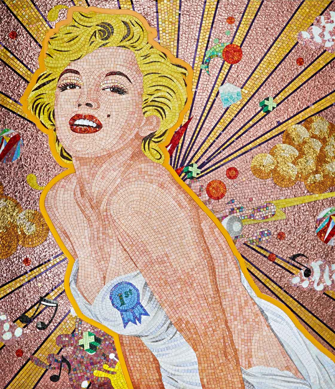 PICTOCLUB Mosaic - MARILYN POP - Sicis x Pictoclub