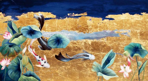 PICTOCLUB Painting - APPARENT CALM - Esther Moreno