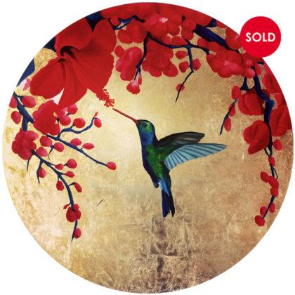 PICTOCLUB Painting - HUMMINGBIRD - Esther Moreno