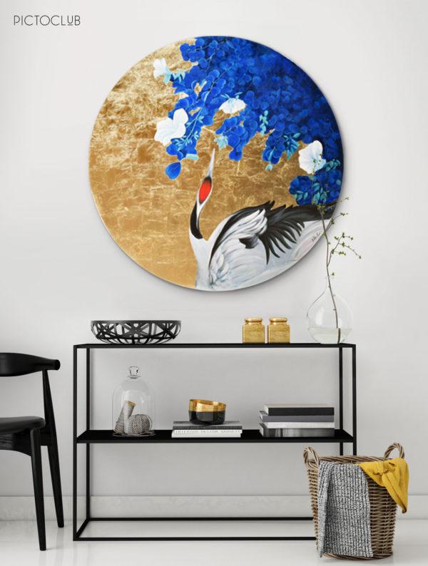 PICTOCLUB Painting - HERON - Esther Moreno