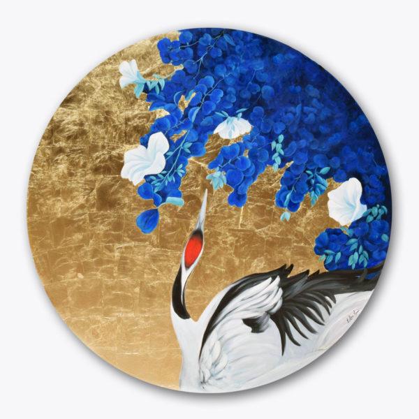 PICTOCLUB Painting -HERON - Esther Moreno