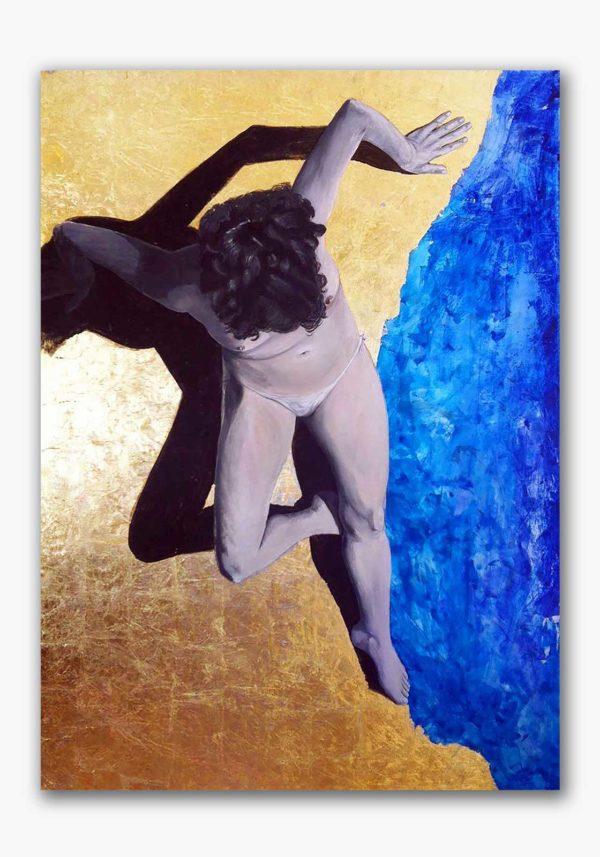 PICTOCLUB Painting - LOS LUNES AL SOL - Esther Moreno