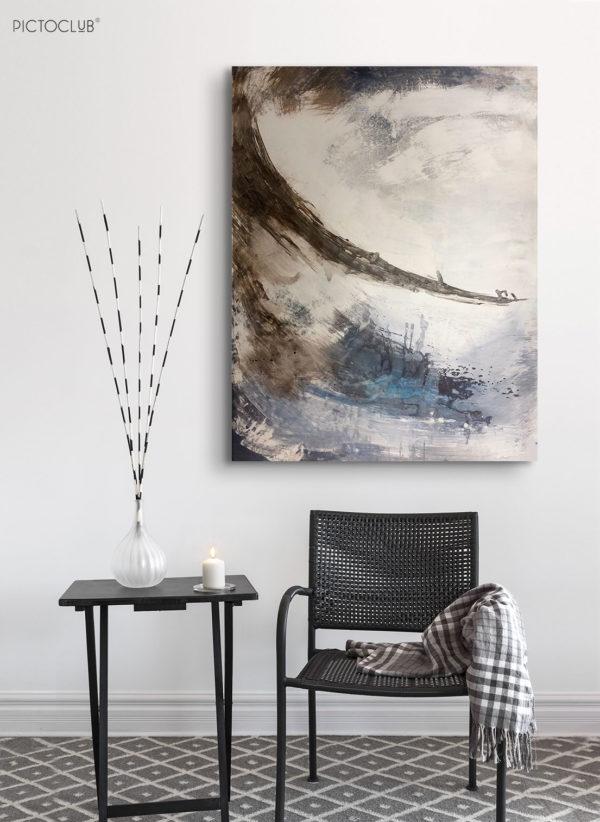 PICTOCLUB Painting - TORMENTA - Esther Moreno