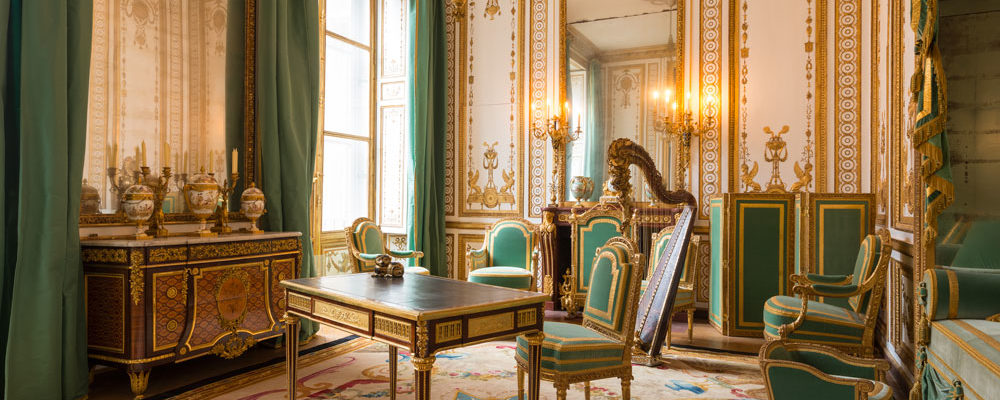NEW OPENING OF MARY ANTONIETTES APARTMENTS IN CHATEAU VERSAILLES
