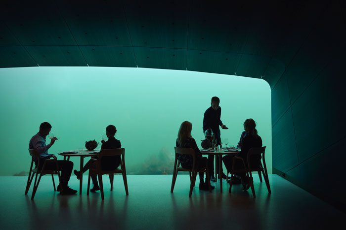 THE FIRST UNDERWATER RESTAURANT IN EUROPE OPENED IN NORWAY - PICTOCLUB