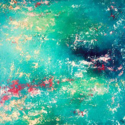 PICTOCLUB Painting - BEING HAPPY - María Romero