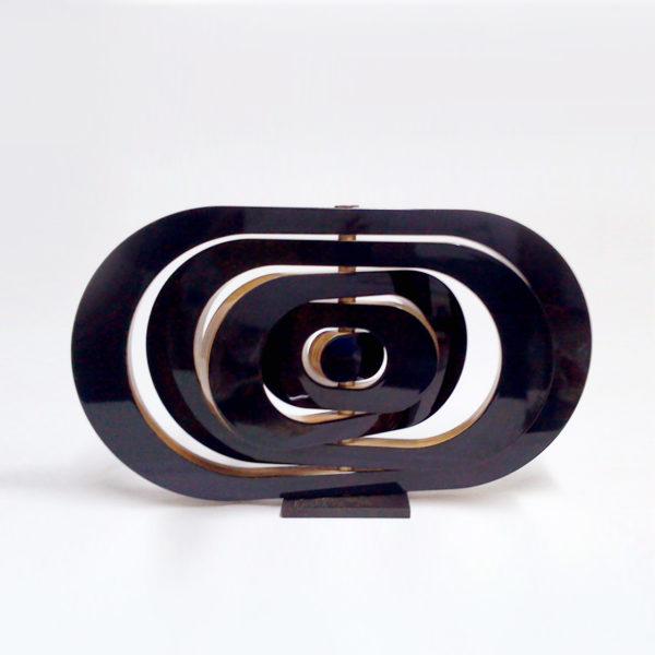 PICTOCLUB Sculpture - ARMILLAR 5 Black- Josecho López Llorens
