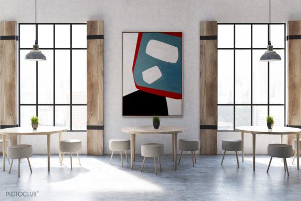 PICTOCLUB Painting - BLUE DAGOBAH - Pictoclub Originals