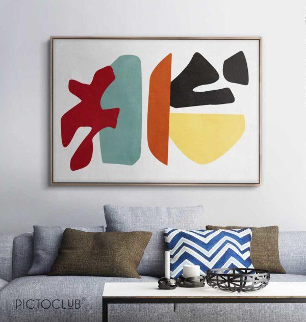 PICTOCLUB Painting - SEA LIFE - Pictoclub Originals