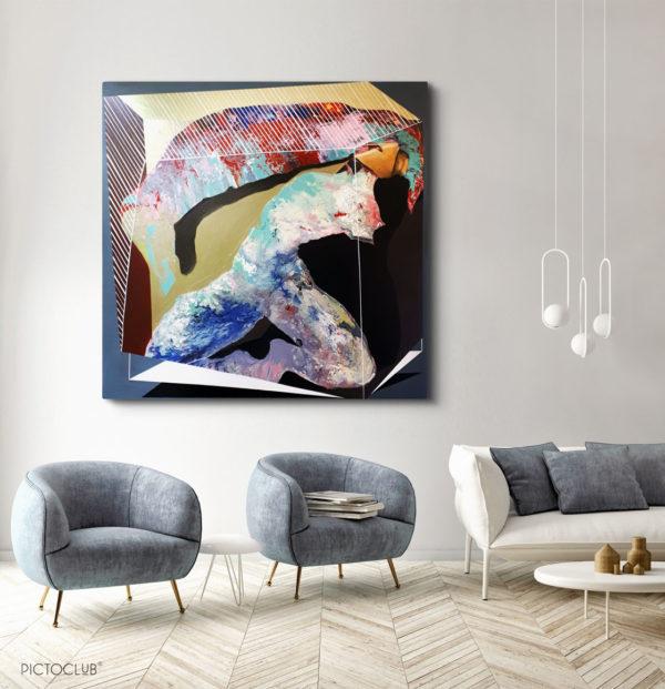 PICTOCLUB Painting - WORK 2 - Saúl Gil Corona