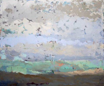 PICTOCLUB Painting - PLAYA-DE-ARENA-OSCURA - Belén Guijarro