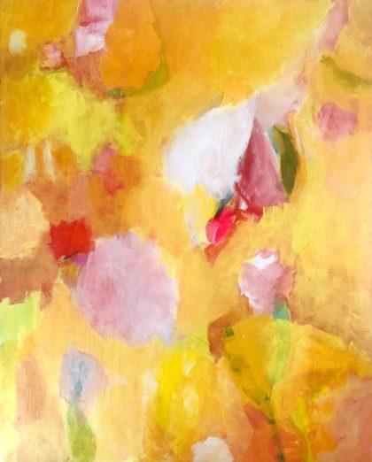 PICTOCLUB Painting - BASTAR YELLOW - Elvira Mendez