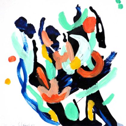 PICTOCLUB Painting - FLOW-13 - Elvira Mendez