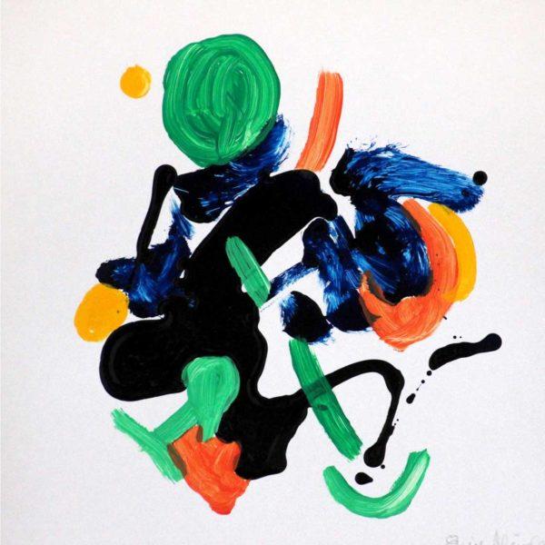 PICTOCLUB Painting - FLOW-4 - Elvira Mendez