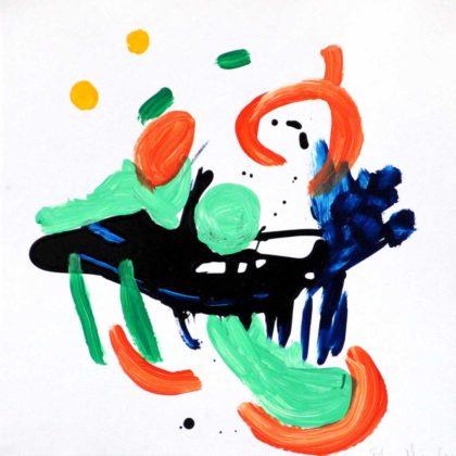PICTOCLUB Painting - FLOW-5 - Elvira Mendez