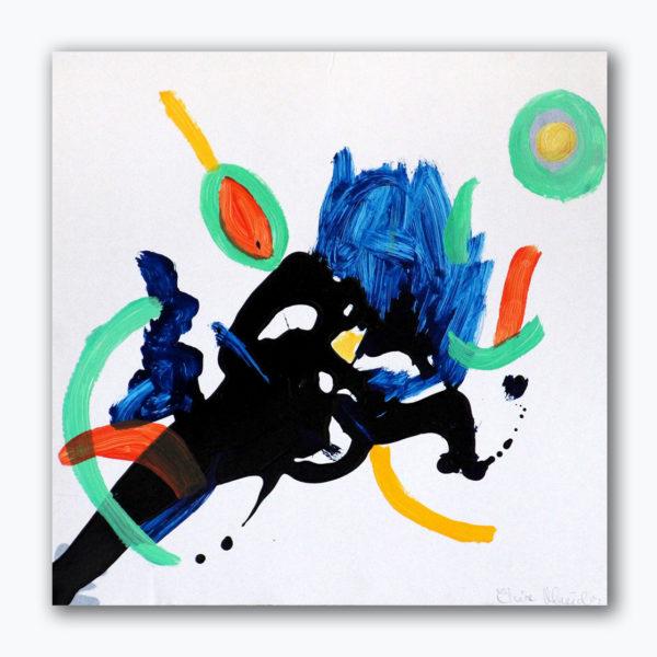 PICTOCLUB Painting - FLOW-7 - Elvira Mendez