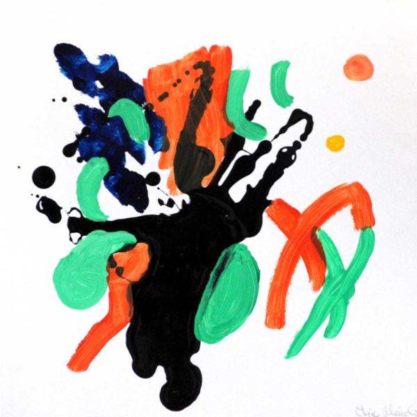 PICTOCLUB Painting - FLOW-8 - Elvira Mendez