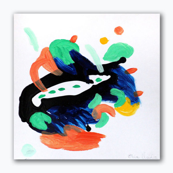 PICTOCLUB Painting - FLOW-9 - Elvira Mendez