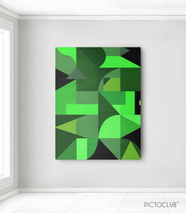PICTOCLUB Painting - GREEN-PARK- Pictoclub Originals