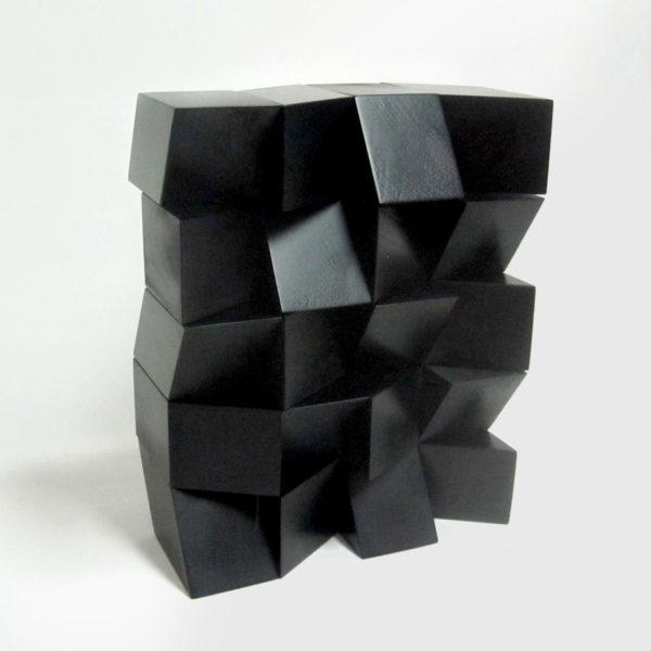 PICTOCLUB Sculptures - GLOSSY BLOCK BUILDING - Josecho López Llorens