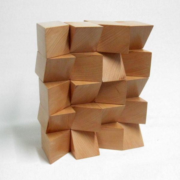PICTOCLUB Sculptures - NATURAL BLOCK BUILDING - Josecho López Llorens