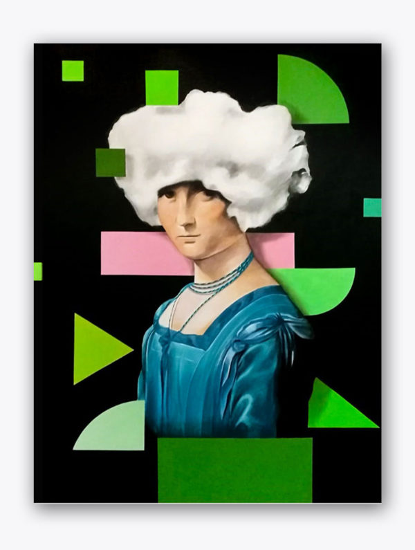 PICTOCLUB Painting - LA BELLE ET LE NOUAGE - Pictoclub Originals