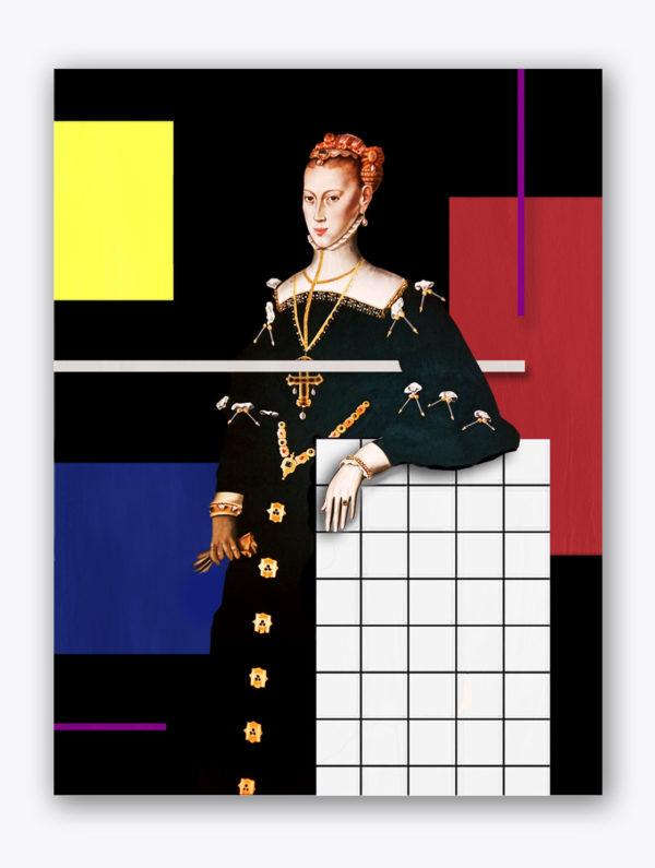 PICTOCLUB Painting - LA EMPERATRIZ - Pictoclub Originals