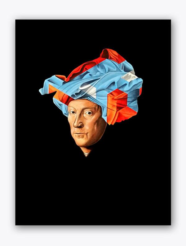 PICTOCLUB Painting - MAN-IN-A-TURBAN - Pictoclub Originals