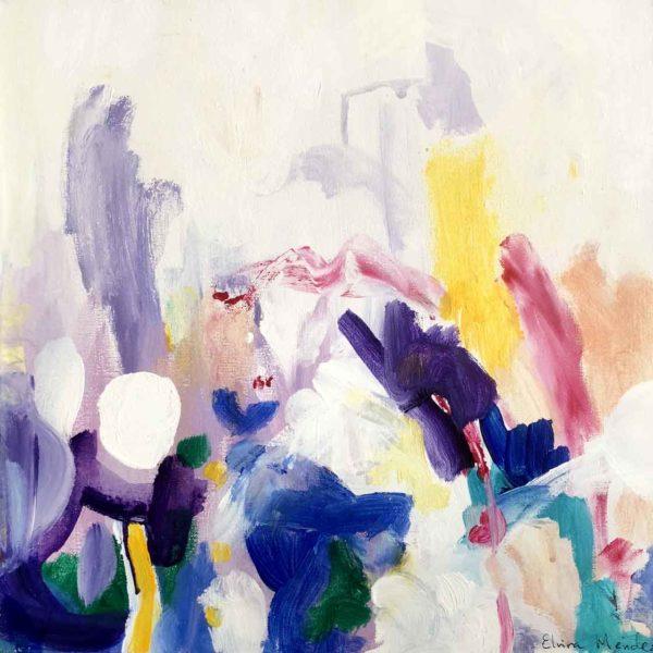 PICTOCLUB Painting - Nastur-III - Elvira Mendez