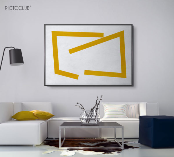 PICTOCLUB Painting - GOLD LINES - Pictoclub Originals