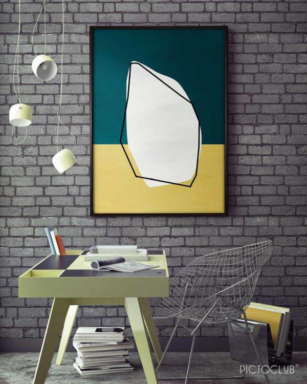 PICTOCLUB Painting - KRYTON - Pictoclub Originals
