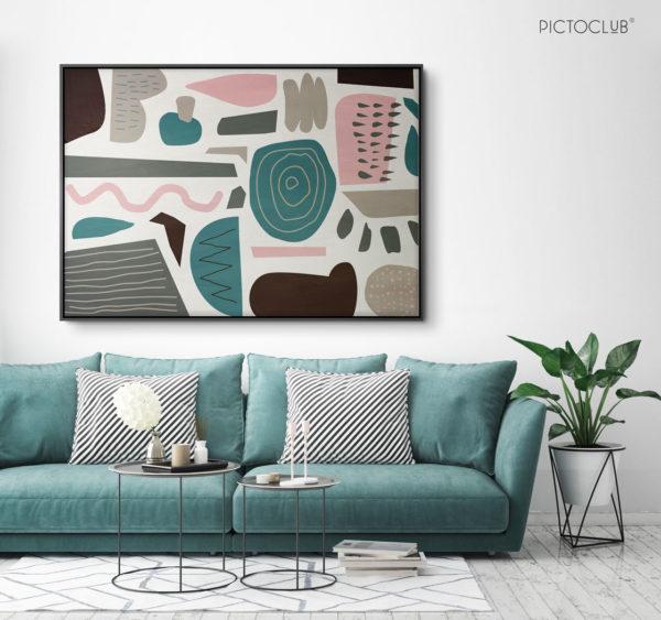 PICTOCLUB Painting - VALENTINE - Pictoclub Originals
