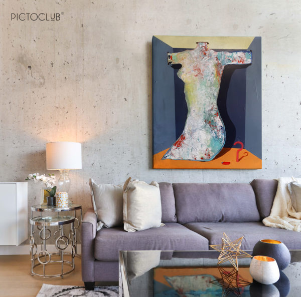 PICTOCLUB Painting - WORK 3 - Saúl Gil Corona