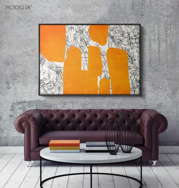 PICTOCLUB Painting - AMSTERDAM - Pictoclub Originals