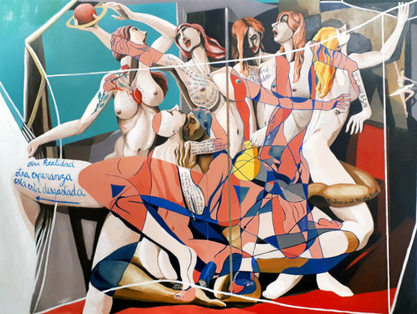 PICTOCLUB Painting - EMPOWERMENT - Saúl Gil Corona