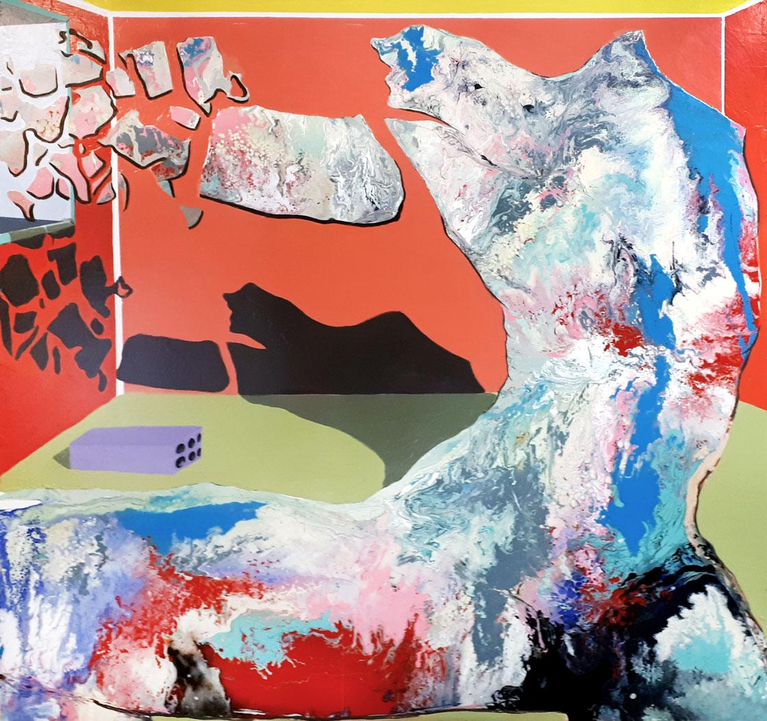 PICTOCLUB Painting - WORK I - Saúl Gil Corona