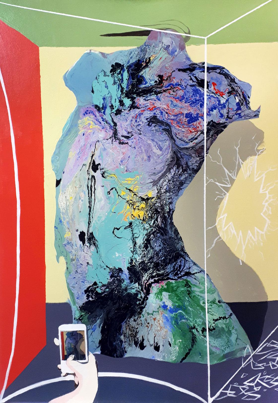 PICTOCLUB Painting - WORK IV - Saúl Gil Corona
