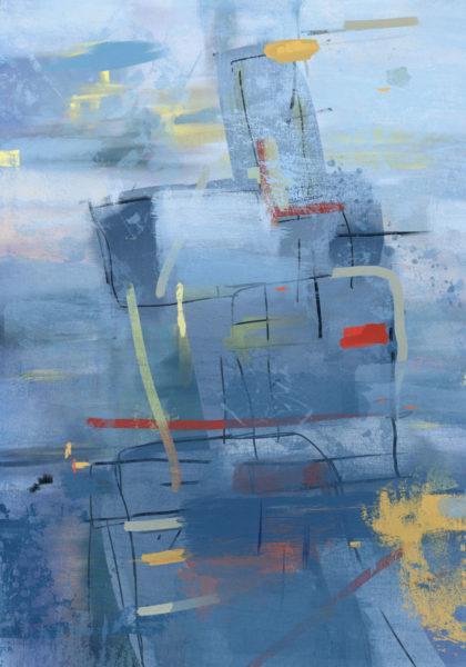 PICTOCLUB Painting - BLUE DREAM - Pictoclub Originals