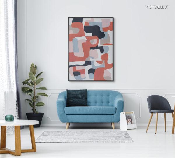 PICTOCLUB Painting - ODDWORLD - Pictoclub Originals