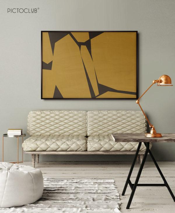 PICTOCLUB Painting - GOLDEN YEAR- Pictoclub Originals