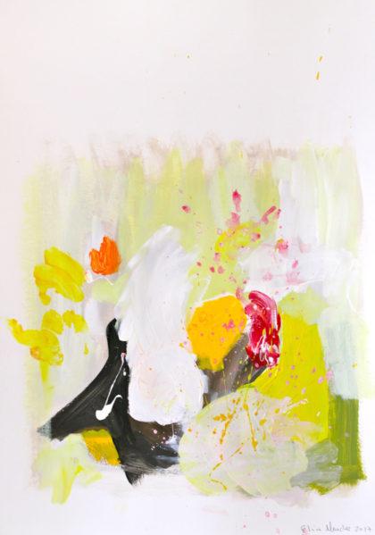 PICTOCLUB Painting - Trapp-VI- Elvira Mendez