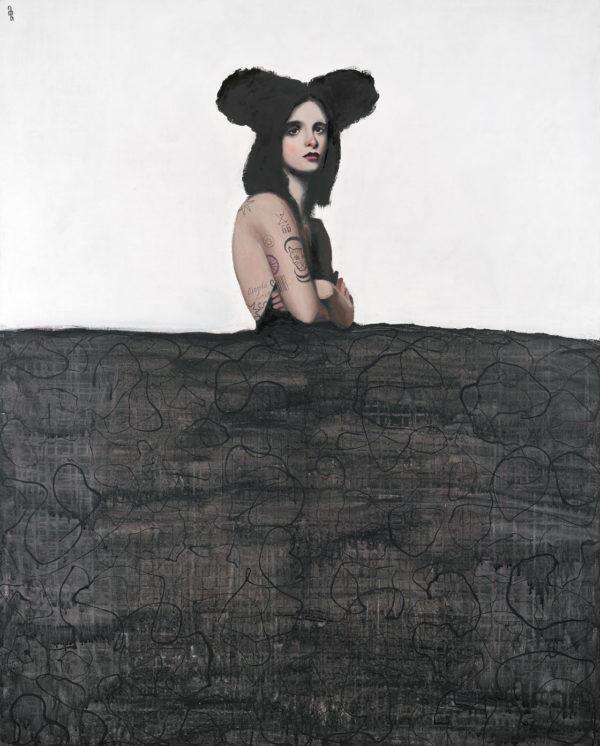 PICTOCLUB Painting - NOCTURNAL-MENINA - Alfredo Palmero