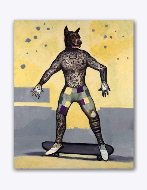 PICTOCLUB Painting - URBAN-DOG - Alfredo Palmero